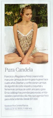 Pura Candela en Revista Mujer 18.05.14