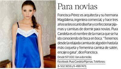 Pura Candela en Revista Mujer 20.05.12
